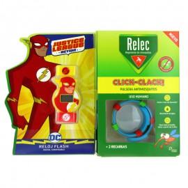 Relec - Reloj Flash Click Clack + 2 Recargas
