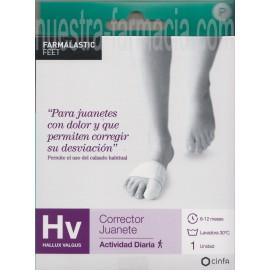 Corrector Hallux Valgus Juanete Talla Pequeña
