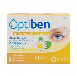 Optiben Ojos Irritados 10 monodosis de 0,4ml