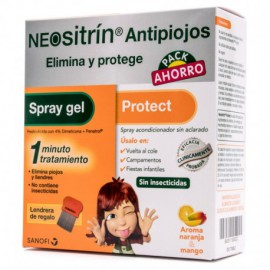 NEOSITRÍN antipiojos Elimina y Protege PACK AHORRO
