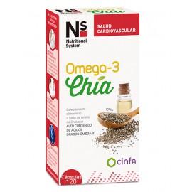NS Omega3 Chía 60 cápsulas