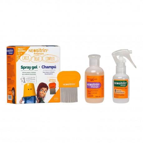 Neositrín Pack Ahorro Spray gel + Champú