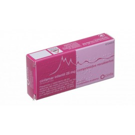CINFAMAR INFANTIL 25 mg Comprimidos Recubiertos