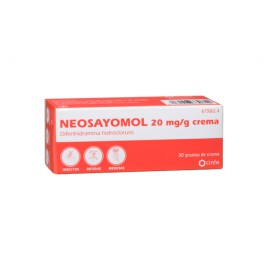 NEOSAYOMOL 20 mg/g crema
