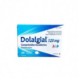DOLALGIAL CLONIXINO LISINA 125 mg Comprimidos Recubiertos