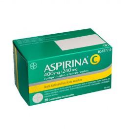 ASPIRINA C 400 mg/240 mg Comprimidos Efervescentes