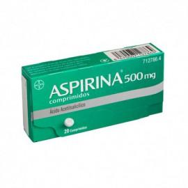 ASPIRINA 500 mg Comprimidos