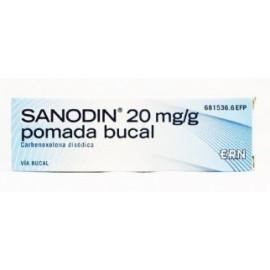 SANODIN 20 mg/g Pomada Bucal