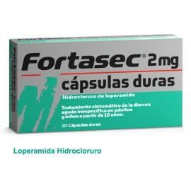 FORTASEC 2 mg Cápsulas duras