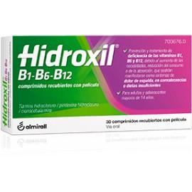 HIDROXIL B1-B6-B12 Comprimidos Recubiertos con Película