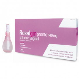 ROSALGIN PRONTO 140 mg Solcuión Vaginal