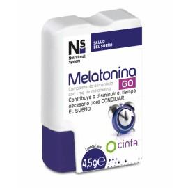 N+S Melatonina 30 Comprimidos Masticables