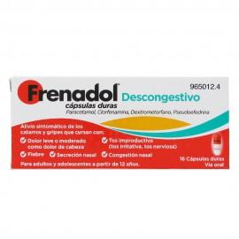 FRENADOL DESCONGESTIVO Capsulas Duras
