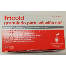 FRICOLD Polvo para Solucion Oral