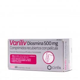 VARILIV / Diosmina 500 mg 60 comprimidod