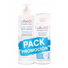 Pack NANOS LOCIÓN CORPORAL 500ml + GEL-CHAMPÚ 200ml