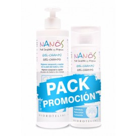 Pack NANOS GEL-CHAMPÚ 500ml + GEL-CHAMPÚ 200ml