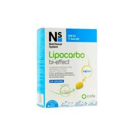 N+S LIPOCARBO Bi-effect 60 Comprimidos
