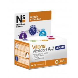 Ns Vitans Vitalidad A-Z Senior 30 Comprimidos