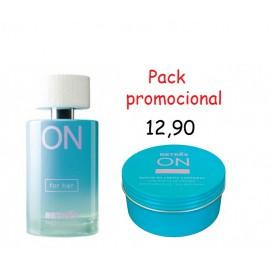Promoción perufme+aceite/crema corporal BELLA