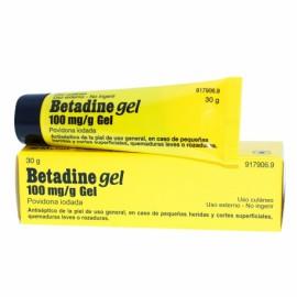 Betadine gel 100 mg/g gel