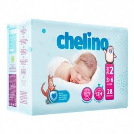 Chelino Pañal Love Talla 2 3-6 kg 28uds