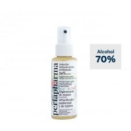 Solución hidroalcohólica perfumada 70% Alcohol 100ml