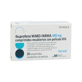 Ibuprofeno Mabo-Farma 400 mg comprimidos recubiertos con película EFG