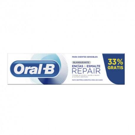 Oral-B Encías & Esmalte Repair Original Pasta Dentífrica 75 ml + 25 ml