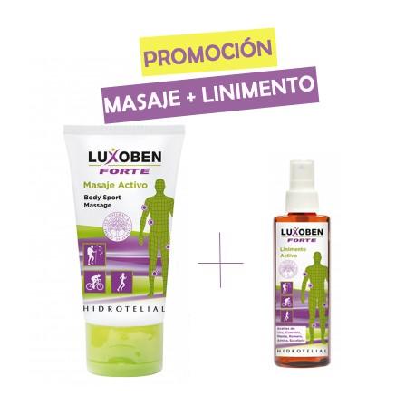 Pack Luxoben Masaje + Linimento - Hidrotelial