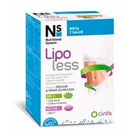 NS Pack Lipoless 90 Comprimidos