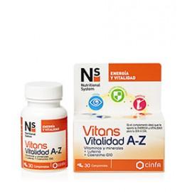 NS Vitans Vitalidad A-Z 30comp.