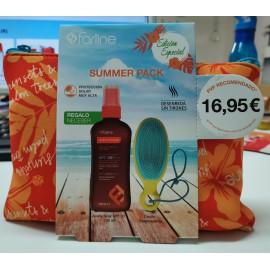 Summer Pack Farline - Aceite Solar SPF30 + Cepillo Desenredante