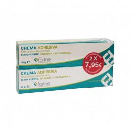Crema adhesiva para dentaduras postizas 2uds