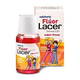 Lacer Colutorio Fluor Semanal 0,2 % Fresa 100ml