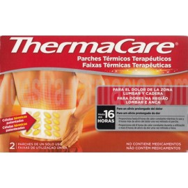 THERMACARE 2 Parches Lumbar
