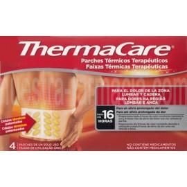 THERMACARE 4 Parches Lumbar/Cadera