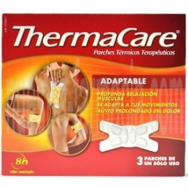 THERMACARE 3 Parches Adaptables